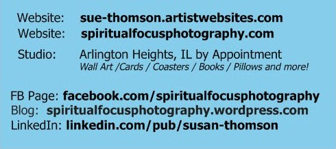 Sue Thomson Sites - Spiritual Focus Photography