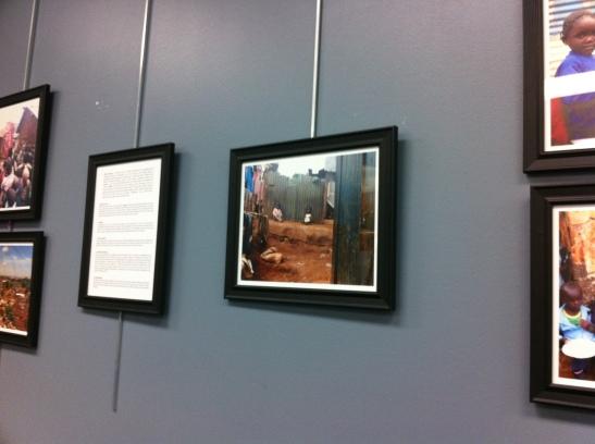 To Kibera With Love Exhibit - Katie Thomson - Sue Thomson