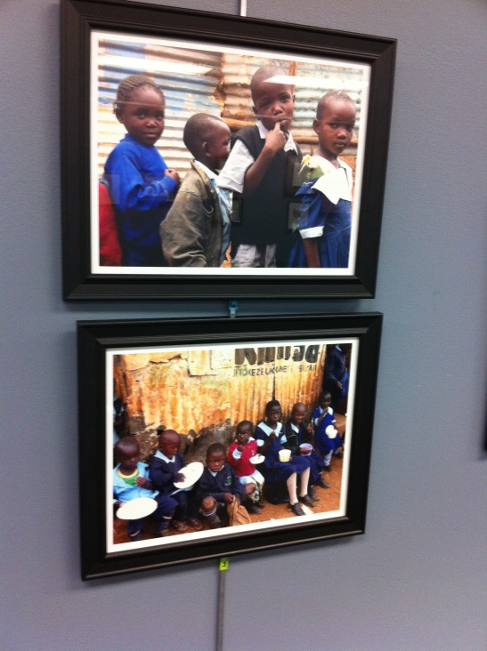 To Kibera With Love Exhibit - Katie Thomson - Sue Thomson
