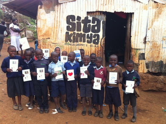 To Kibera With Love - Sue Thomson - Spiritual Focus Photography