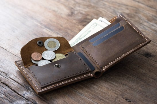 Coin-Wallet-PERSONALIZED-Leather-Mens-Coin-Pocket-Wallet